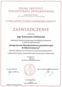 Integratywna MetaSystemowa Psychoterapia Krótkoterminowa