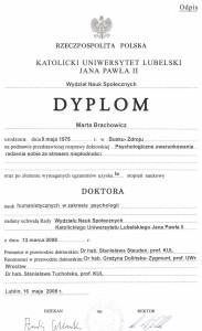 Brachowicz-Dyplom-doktora-psychologii-2008
